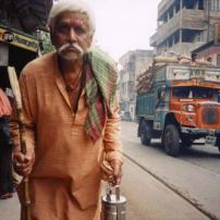 Puja 'Man on street'