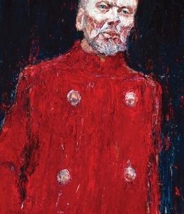 John Bell as King Lear by Nicholas Harding
