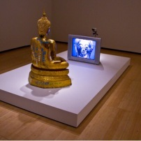 Nam June Paik 'Golden Buddha'
