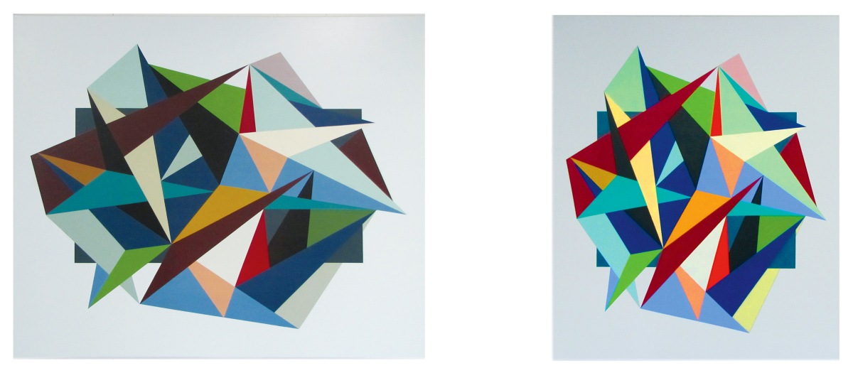 Andy Harwood: the art of Geometric Abstraction