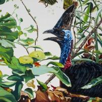 E Lindsay 2017 Female cassowary